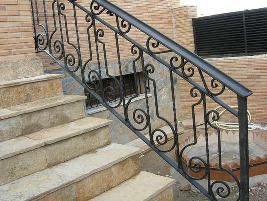 Baranda En Hierro Forjado Para Escaleras Interiores Imagui