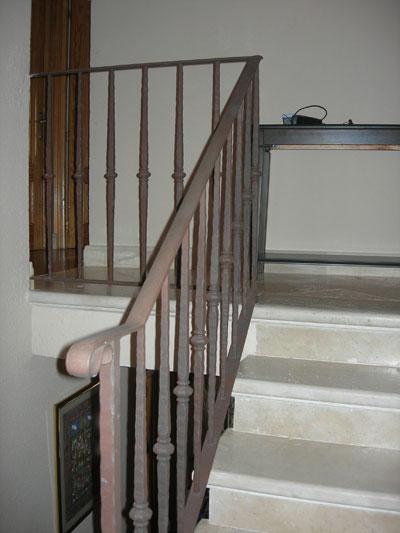 Barandillas madrid escaleras y balcones a medida hierro y acero - Barandillas de hierro ...