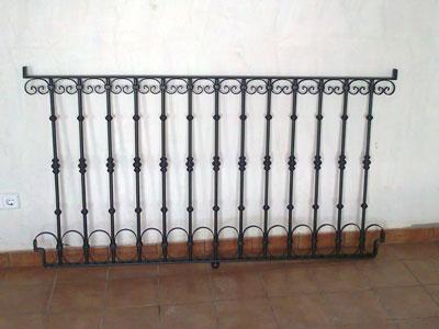 Barandillas Madrid Escaleras y Balcones a medida hierro y acero