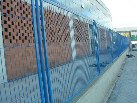 Vallas madrid met licas cerramientos a medida fabricante for Vallas metalicas para piscinas